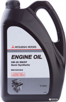 Масло моторное Mitsubishi Engine Oil SM 5W-30 4 л (MZ320364)