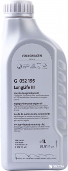 Масло моторное VAG Longlife III 5W-30 1 л (G052195M2)