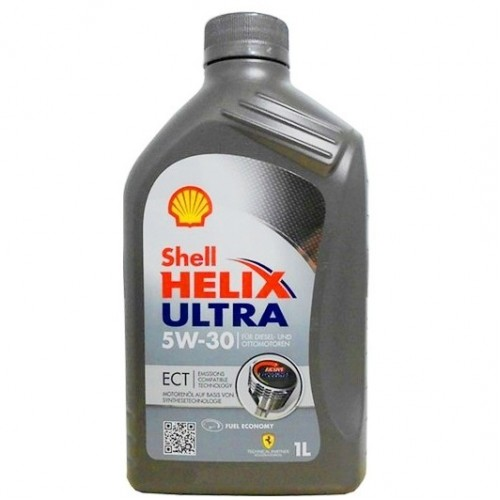 Моторное масло Shell Helix Ultra 5W-40 1 л