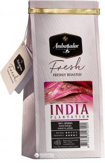 Кофе в зернах Ambassador Fresh India Plantation 200 г (8719325127201)