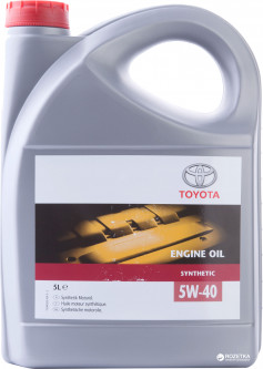 Масло моторное Toyota ENGINE OIL 5W-40 5 л (08880-80835)