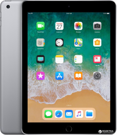 Планшет Apple iPad A1893 New 2018 Wi-Fi 32GB Space Gray (MR7F2)