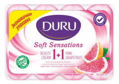 Мыло Duru Soft Sensations Грейпфрут 4 x 90 г (8690506481643)