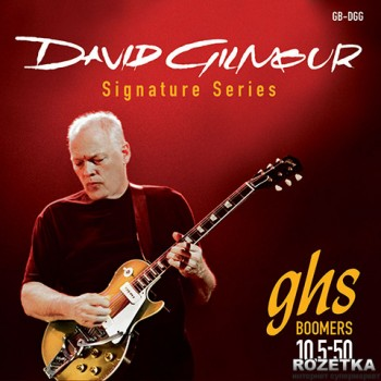 GHS David Gilmour Red Signature (010.5-050) (A008891)