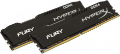 Оперативная память HyperX DDR4-3200 16384MB PC4-25600 (Kit of 2x8192) Fury Black (HX432C18FB2K2/16)