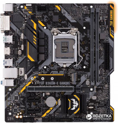 Материнская плата Asus TUF B360M-E Gaming (s1151, Intel B360, PCI-Ex16)