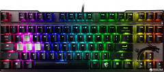 Клавиатура проводная MSI Vigor GK70 RGB Cherry MX Red USB Black