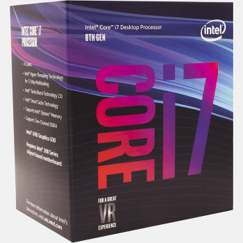 Процесор Intel Core i7-8700 3.2 GHz/8GT/s/12MB (BX80684I78700) s1151 BOX