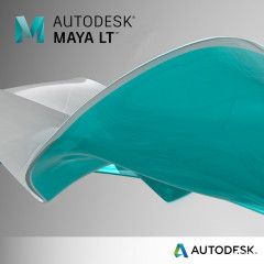 Autodesk Maya LT Commercial Single-user Quarterly Subscription Renewal (электронная лицензия) (923F1-008891-T478)