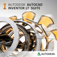 AutoCAD Inventor LT Suite 2019 Commercial New Single-user ELD 3-Year Subscription (электронная лицензия) (596K1-WW3033-T744)