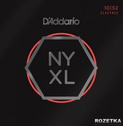 D'Addario NYXL1052 Nickel Regular Light/Heavy (10-52)