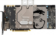MSI PCI-Ex GeForce GTX 1080 Sea Hawk EK X 8GB GDDR5X (256bit) (1683/10108) (DVI, HDMI, 3 x DisplayPort) (GeForce GTX 1080 SEA HAWK)