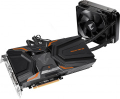 Gigabyte PCI-Ex GeForce GTX 1080 Ti Aorus Waterforce Xtreme Edition 11GB GDDR5X (352bit) (1607/11232) (DVI, 3 x HDMI, 3 x Display Port) (GV-N108TAORUSX W-11GD)