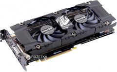 INNO3D PCI-Ex GeForce GTX 1080 TWIN X2 8GB GDDR5X (256bit) (1607/10000) (DVI, HDMI, 3 x DisplayPort) (N1080-1SDN-P6DN)