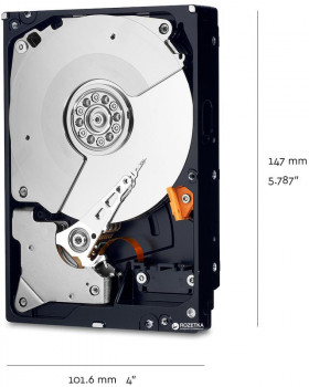 "Жорсткий диск Western Digital Black 4TB 7200rpm 256MB WD4005FZBX 3.5"" SATA III"