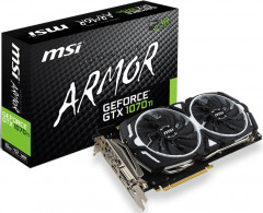 Видеокарта MSI GeForce GTX 1070 Ti ARMOR 8G