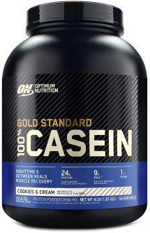 Протеин Optimum Nutrition 100% Casein Protein 1.818 кг Cookies n Cream (748927024289)