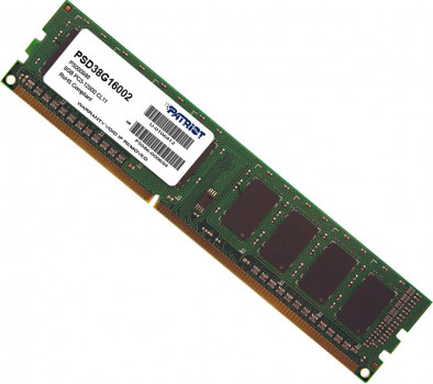 Оперативна пам'ять Patriot DDR3-1600 8192MB PC3-12800 Signature Line (PSD38G16002)