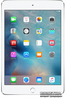 Планшет Apple A1538 iPad mini 4 Wi-Fi 128GB (MK9P2) Silver