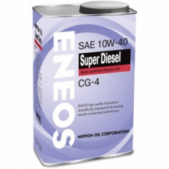 Моторное масло ENEOS Super Diesel CG-4 semi-syntetic 10W-40 1л ENSS1040CG-1