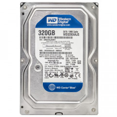 Жесткий диск Western Digital Caviar Blue 320GB 7200prm 8MB WD3200AAJS 3.5 SATAII Refurbished