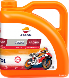 Моторное масло Repsol Moto Racing 4T 10W40 4 л (RP160N54)