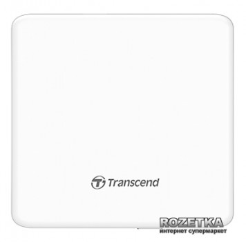 Transcend DVD±RW TS8XDVDS-W USB 2.0 External Ultra Slim White Retail