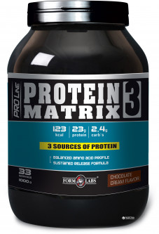 Протеин Form Labs Protein Matrix 3 1000g Шоколад (4018209100090)