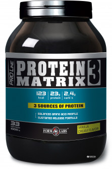 Протеин Form Labs Protein Matrix 3 1000g Банан (4018209100885)
