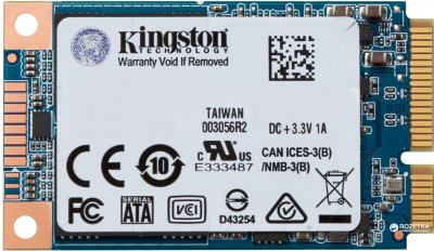 Kingston SSD UV500 120GB mSATA SATAIII 3D NAND TLC (SUV500MS/120G)
