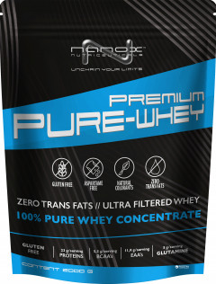 Протеин Nanox Premium Pure Whey Concentrate 2000 г Страчателла (STT 10001)