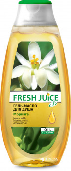 Гель-масло для душа Fresh Juice Moringa 400 мл (4823015937569)