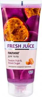 Пилинг для тела Fresh Juice Passion Fruit & Brown Sugar 200 мл (4823015936036)