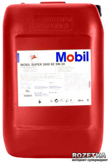 Моторное масло Mobil Super 3000 XE 5W-30 20 л