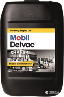 Моторное масло Mobil Delvac XHP ESP 10W-40 20 л