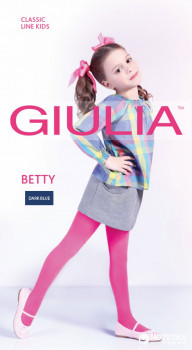 Колготки Giulia Betty 80 80 Den 116-122 см Dark Blue (4820040232225)