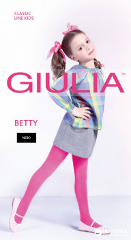 Колготки Giulia Betty 80 80 Den 128-134 см Nero (4820040232362)