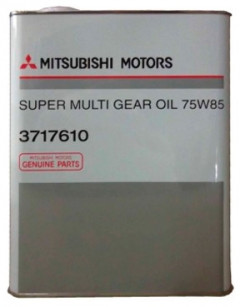 Трансмиссионное масло Mitsubishi DiaQueen Super Multi Gear OIL 75W-85 GL-4 4л 3717610