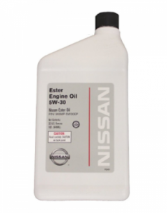 Моторное масло Nissan Ester Oil 5W-30 0,946л 999MP-5W30EP