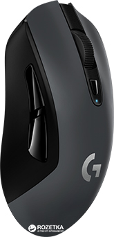 Миша Logitech G603 Lightspeed Wireless Black (910-005101)