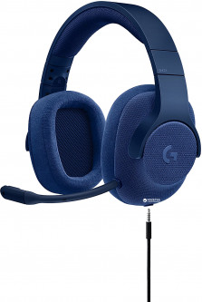 Logitech Wired Gaming Headset G433 7.1 Surround Royal Blue (981-000687)