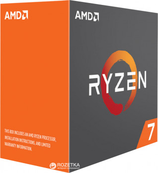 Процесор AMD Ryzen 7 1700X 3.4GHz/16MB (YD170XBCAEWOF) sAM4 BOX