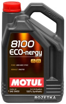 Моторне масло Motul 8100 Eco-nergy 5W-30 5 л (102898)