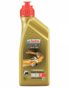 Моторное масло Castrol Power 1 Racing 4T 5W-40 1л MW-P1R4T5-12X1L1
