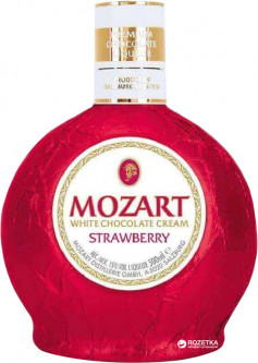 Ликер Mozart Cream Strawberry 0.5 л 15% (9013100003490)