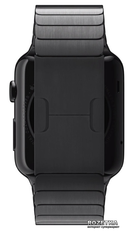 space black stainless steel watch - 473×803