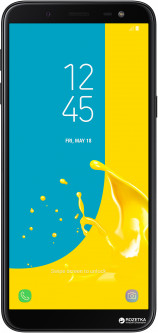 Samsung Galaxy J6 2/32GB Black (SM-J600FZKDSEK) + карта памяти Samsung 64GB в подарок!