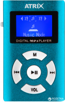 Atrix XSound 6 Key MP3 Blue