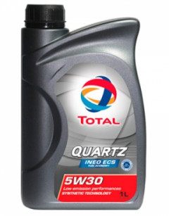 Моторное масло TOTAL QUARTZ INEO ECS 5w-30 1л