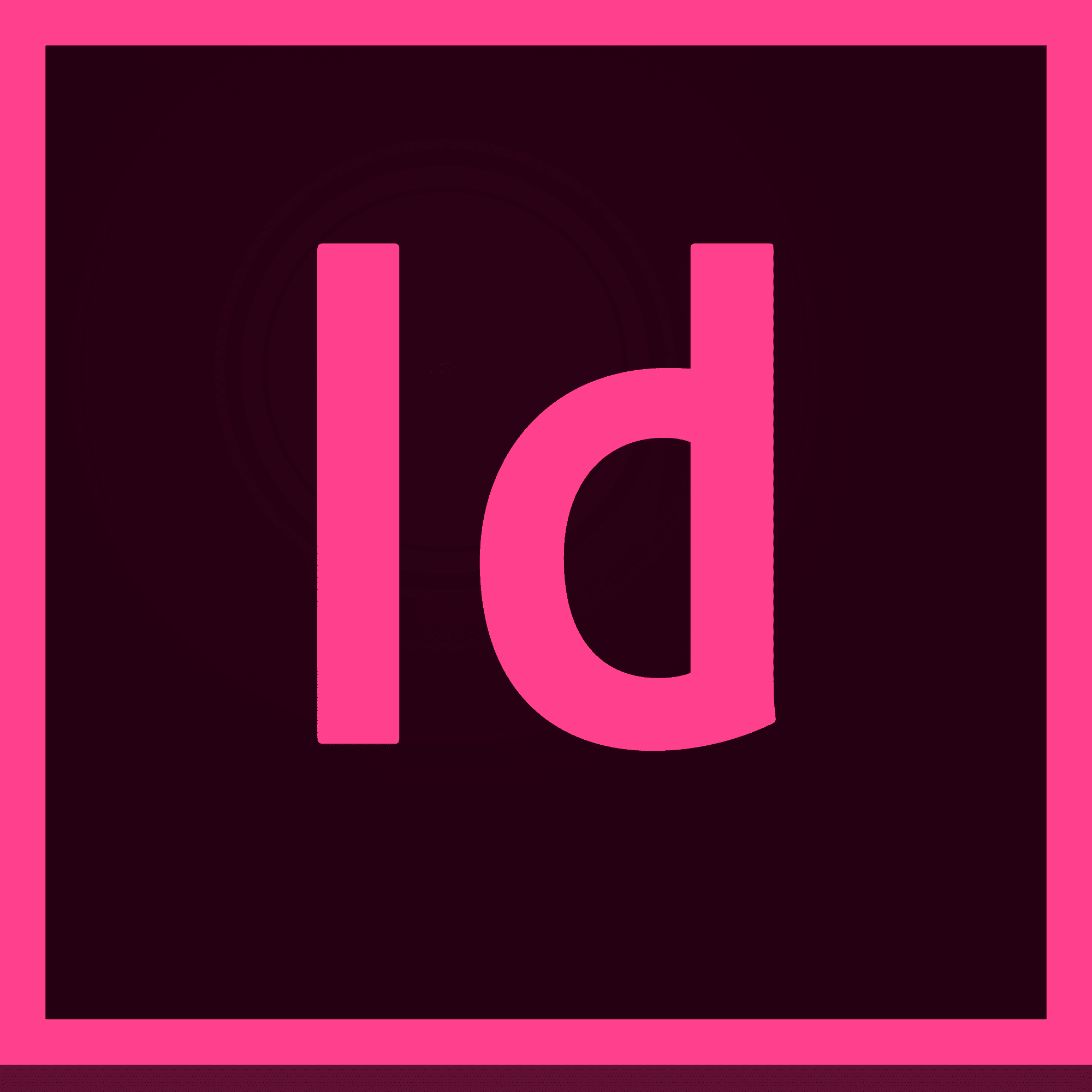 Adobe InDesign CC Multiple Platforms Multi European Languages License New 1 лицензия 1 ПК на 1 год